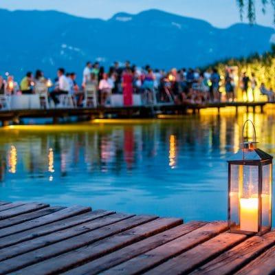 Kiosk am Wasser – Il Chiosco in riva al lago